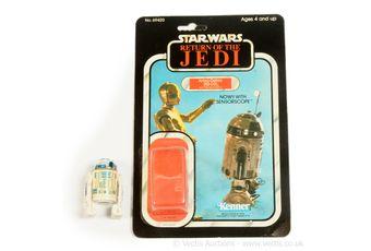Kenner Star Wars Return of the Jedi vintage R2-D2 sensorscope