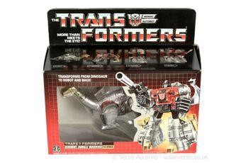 Hasbro 1984 G1 Transformers Sludge, Mint unused complete