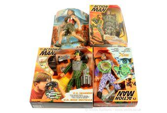 Hasbro Action Man modern figures etc x five