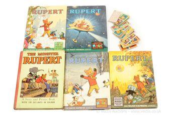 Vintage Rupert Annuals x five