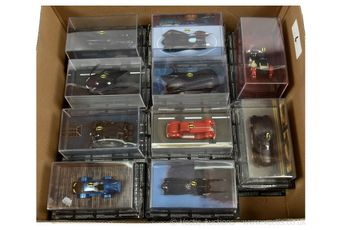 Eaglemoss Collections Batman Automobilia Die-cast vehicles x