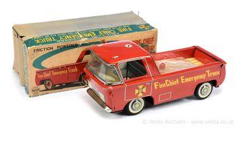 "Linemar (Japan) ""Fire Chief Emergency Truck"""