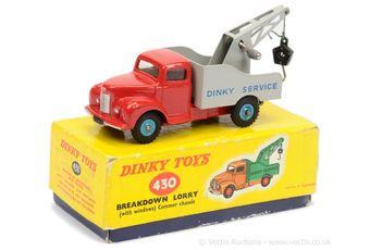 "Dinky 430 Commer Breakdown Lorry ""Dinky Service"""