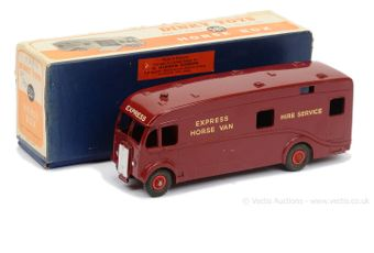 Dinky 581 EXPORT ISSUE Horse Box