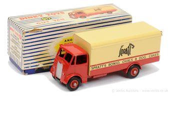 """Dinky 917 Guy (1st Type) - """"Spratt's"""" Delivery Van"""