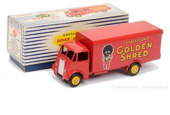 """Dinky 919 Guy (2nd Type) - """"Robertson's Golden Shred"""" Van"""