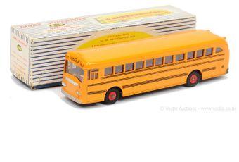 Dinky 949 Wayne School Bus - yellow body