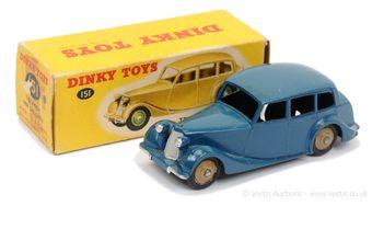 Dinky 151 Triumph 1800 Saloon - dark blue