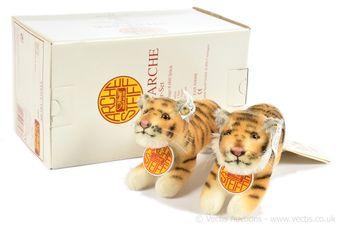 Steiff Noah's Ark Tiger Set, 1995 to 1997