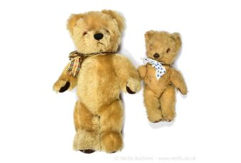 """Chad Valley """"Big Ted"""" and """"Little Ted"""""""