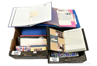 Collection of Cullercoats scrapbooks comprising a collection