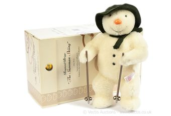 "Steiff Raymond Briggs ""The Snowman Skiing"""