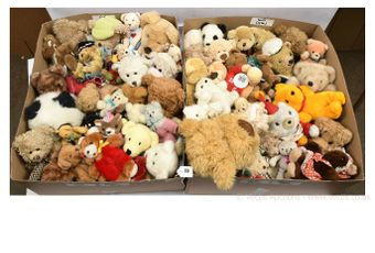 Collection of plush teddy bears: House of Fraser Bear 2000; Bedford