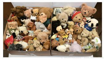 Plush teddy bears, collection: House of Fraser Bear 1996