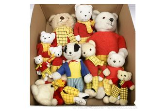 Rupert the Bear collection x 11
