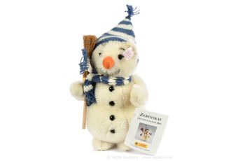 Steiff Snowman teddy bear, German exclusive