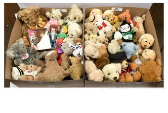 Advertising and promotional plush toys
