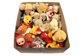 TV and Film related plush toys