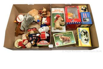 Collection of novelty toys,