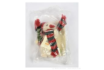 Steiff Chilly The Snowman, white tag 666506, LE 1500, 2001