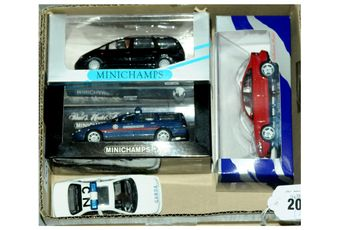 Minichamps a mainly boxed group to include 430171898 Volvo V70,