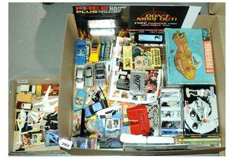 Corgi, AJR 21 Toy and similar a mainly boxed James Bond/TV