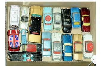 Corgi an unboxed group to include Austin A60 Learner Car