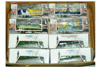 Corgi Original Omnibus Company a boxed Tram group to include