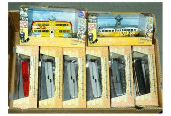 Corgi a boxed Original Omnibus Tram group to include OM43505
