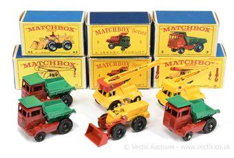 Matchbox Regular Wheels 3 x 2c Muir Hill Site Dumper