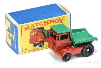 Matchbox Regular Wheels 2c Muir Hill Site Dumper Promotional
