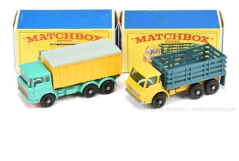 Matchbox Regular Wheels 4d Dodge Stake Truck