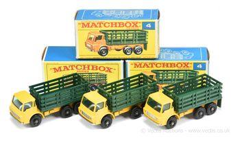 Matchbox Regular Wheels 3 x 4d Dodge Stake Truck