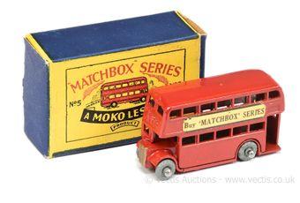 Matchbox Regular Wheels 5a London Bus