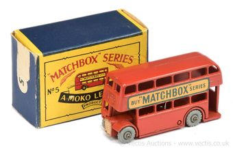 Matchbox Regular Wheels 5b London Bus