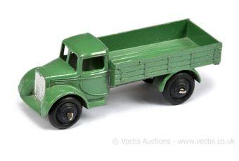 Dinky 22c Motor Truck - green, silver radiator
