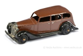 Dinky 30d (Type 4) Vauxhall - brown body