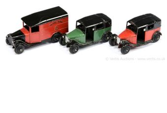 """Dinky 34b """"Royal Mail"""" Delivery Van - two-tone red"""