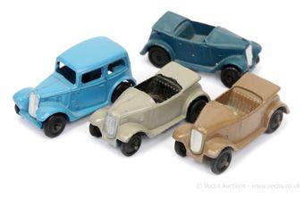 Dinky 39a Saloon Car
