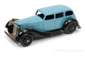 Dinky 36a (Type 5) Armstrong Siddeley - mid-blue body