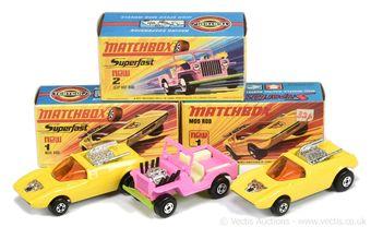Matchbox Superfast 2 x 1b Mod Rod