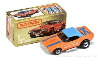 Matchbox Superfast 1d Dodge Challenger Dragster