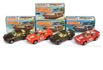 Matchbox Superfast 4 x 3c Porsche 911/930 Turbo