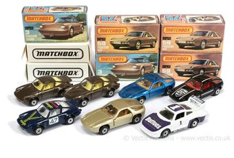 Matchbox Superfast 2 x 3c Porsche 911/930 Turbo
