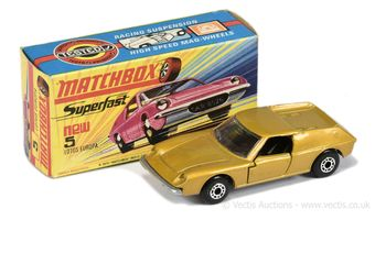 Matchbox Superfast 5a Lotus Europa made in Bulgaria issue