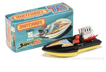 Matchbox Superfast 5b Seafire Power Boat twin pack issue
