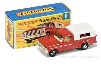 Matchbox Superfast 6a Ford Pick-up Truck