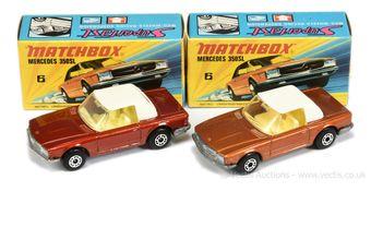 Matchbox Superfast 2 x 6b Mercedes 350 SL