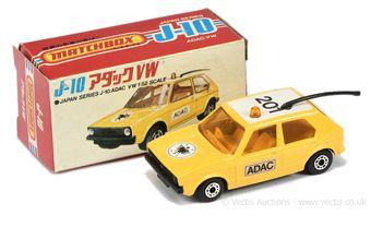 Matchbox Superfast 7c Volkswagen Golf Japanese export issue -