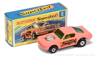 Matchbox Superfast 8b Ford Mustang Wildcat Dragster